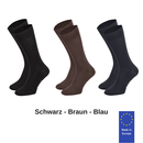 Socken Protorio 3er mixed solid